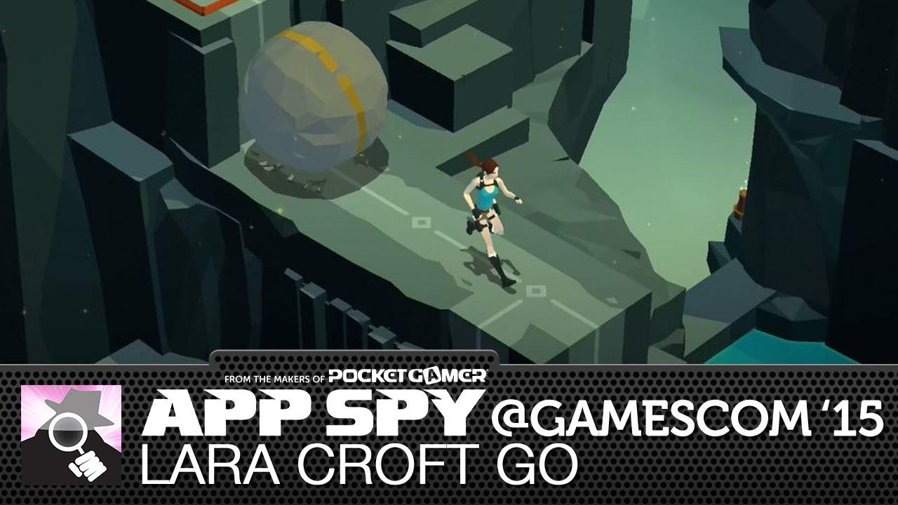 TURN-BASED BOULDER ESCAPE | Lara Croft Go preview