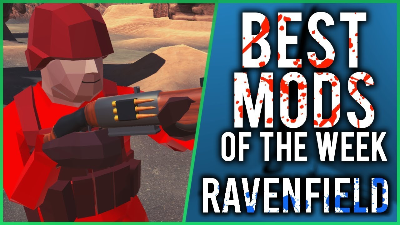 GREAT NEW Weapon Pack! | Best Ravenfield Mods Of The Week #2