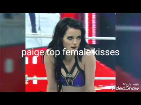 WWE paige top kisses must watch in HD 720p