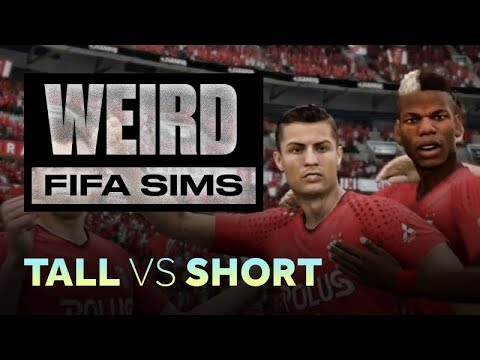 Weird FIFA Sims: Short XI vs. Tall XI