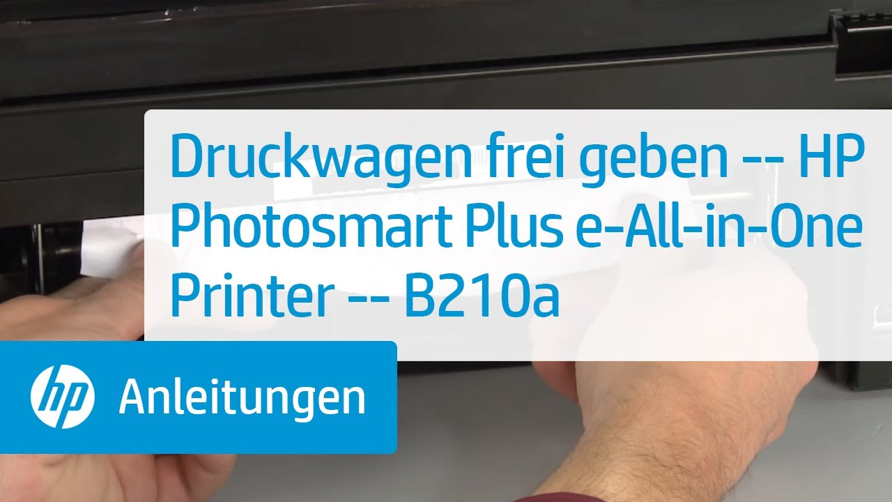 Druckwagen Frei Geben Hp Photosmart Plus E All In One