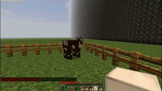 Minecraft 1.2.5 Single Player Commands Mod: See the Commands! Part 1/3