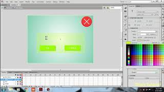 Cara Membuat Tombol  Close/Keluar Pada Adobe Flash