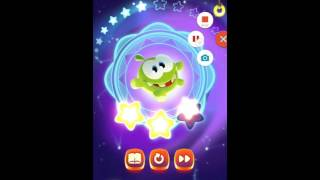 Cut the Rope: magic level 3 - 1, 3 - 2, 3 - 3, 3 - 4, 3 - 5 уровень.