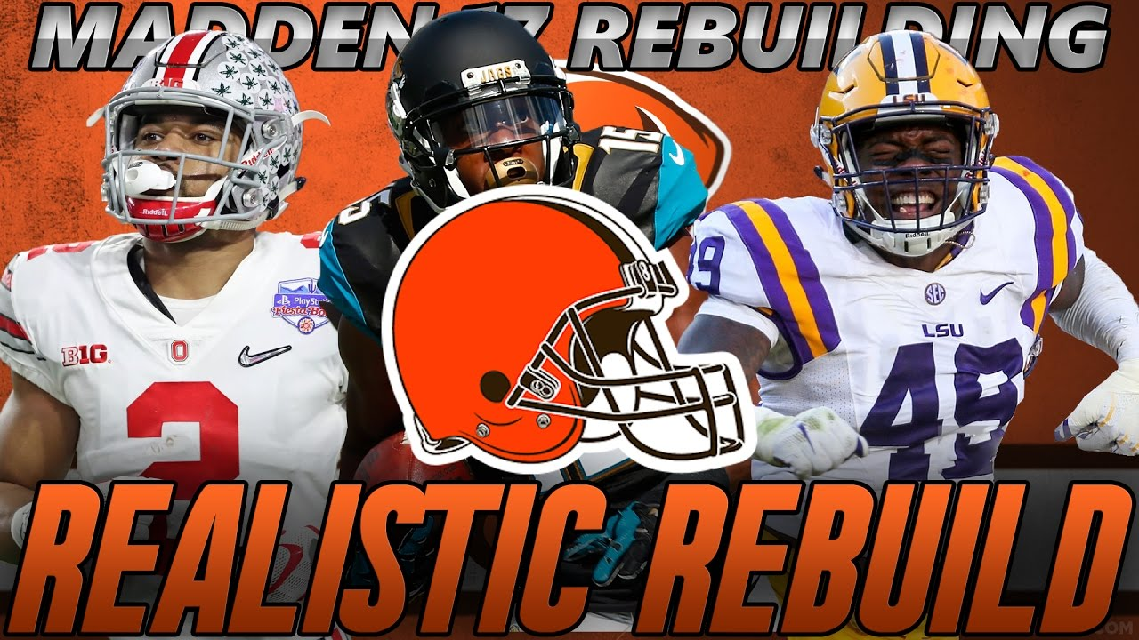 Madden 17 Connected Franchise | Cleveland Browns REALISTIC REBUILD! Browns DONT Draft Myles Garrett?