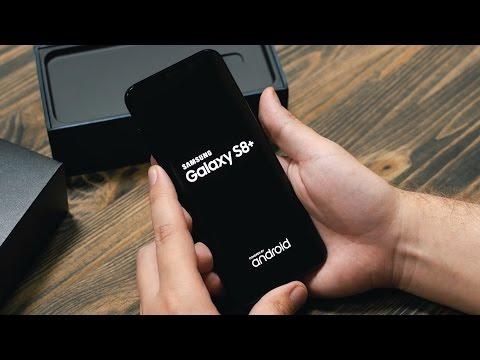 Распаковка Samsung Galaxy S8 Plus для России рядом с iPhone 7 Plus и Meizu Pro 6 Plus