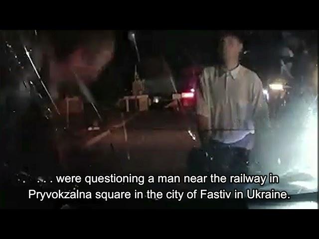 Drunk Broke The Windshield Of Police Car
