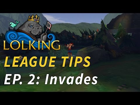 LolKing's League Tips - Episode 2: Dealing With Jungle Invades