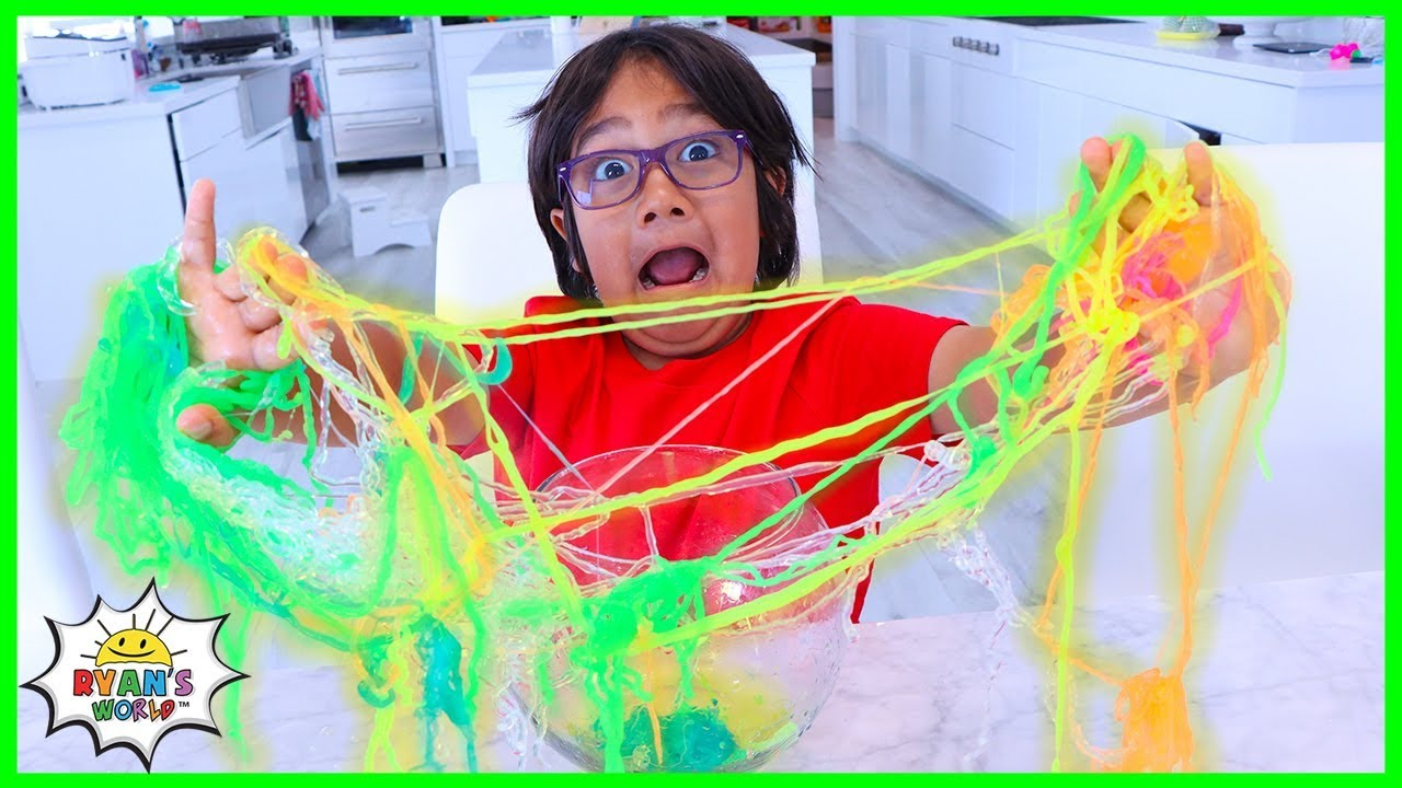 Easy DIY Slime String Science Experiment for Kids!!!!