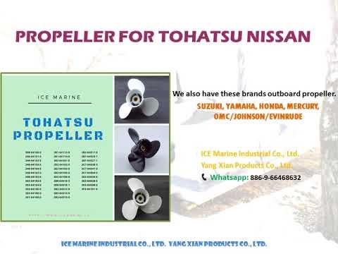 hors-bord TOHATSU NISSAN Outboard Propeller potkuri from ICE Marine