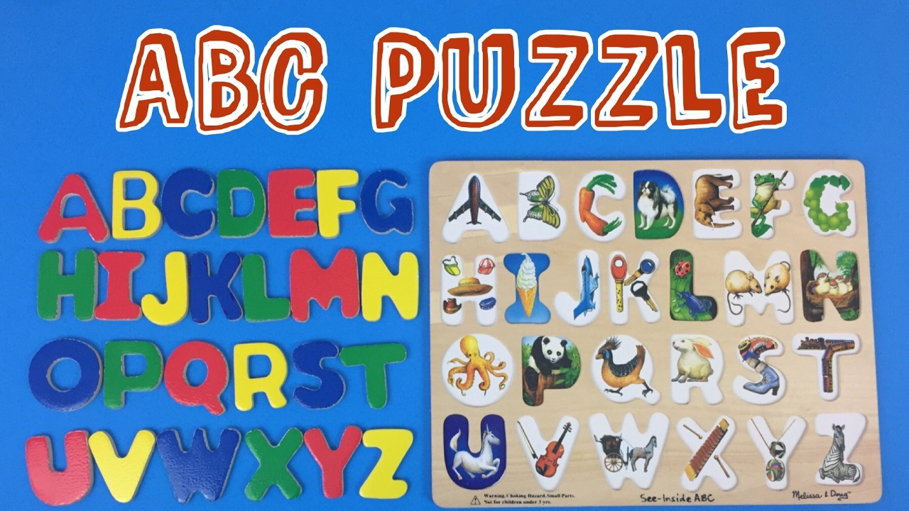 Learn Letters Of The Alphabet With This Abc Puzzle