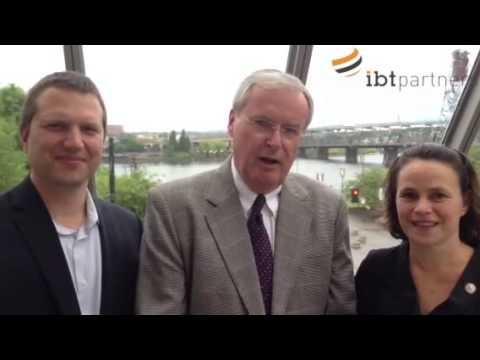 Tim McCabe, Director of Business Oregon in Portland, Oregon, USA talks to IBT Partners