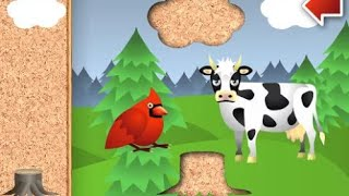 """Animal Puzzle For Toddlers """"puzzle Games"""" Android Gameplay Video"""