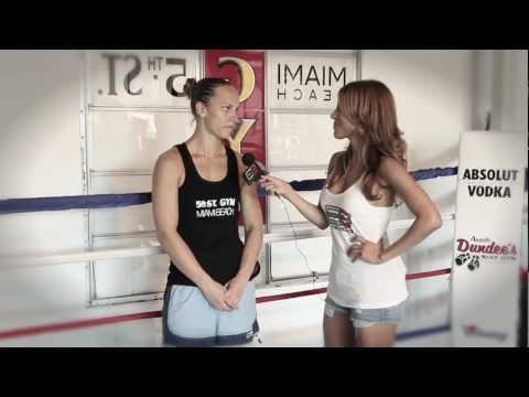 Kavita Channe interviews Pro-Boxer Christina Swanson