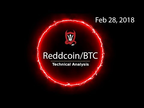 Reddcoin Technical Analysis (ReddCoin/BTC) Be picky in your trade selection [02/28/2018]