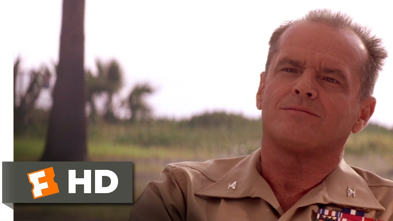 A Few Good Men 3 8 Movie Clip Ask Me Nicely 1992 Hd Youtube Jack Nicklaus Yatomi Shirts