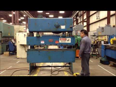 Used 6' x 14 ga. D&K Press Brake, #25165