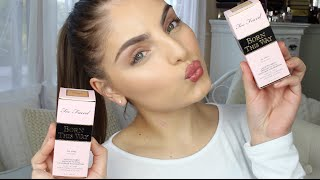 Too Faced Born This Way Foundation First Impressions & Demo ♡