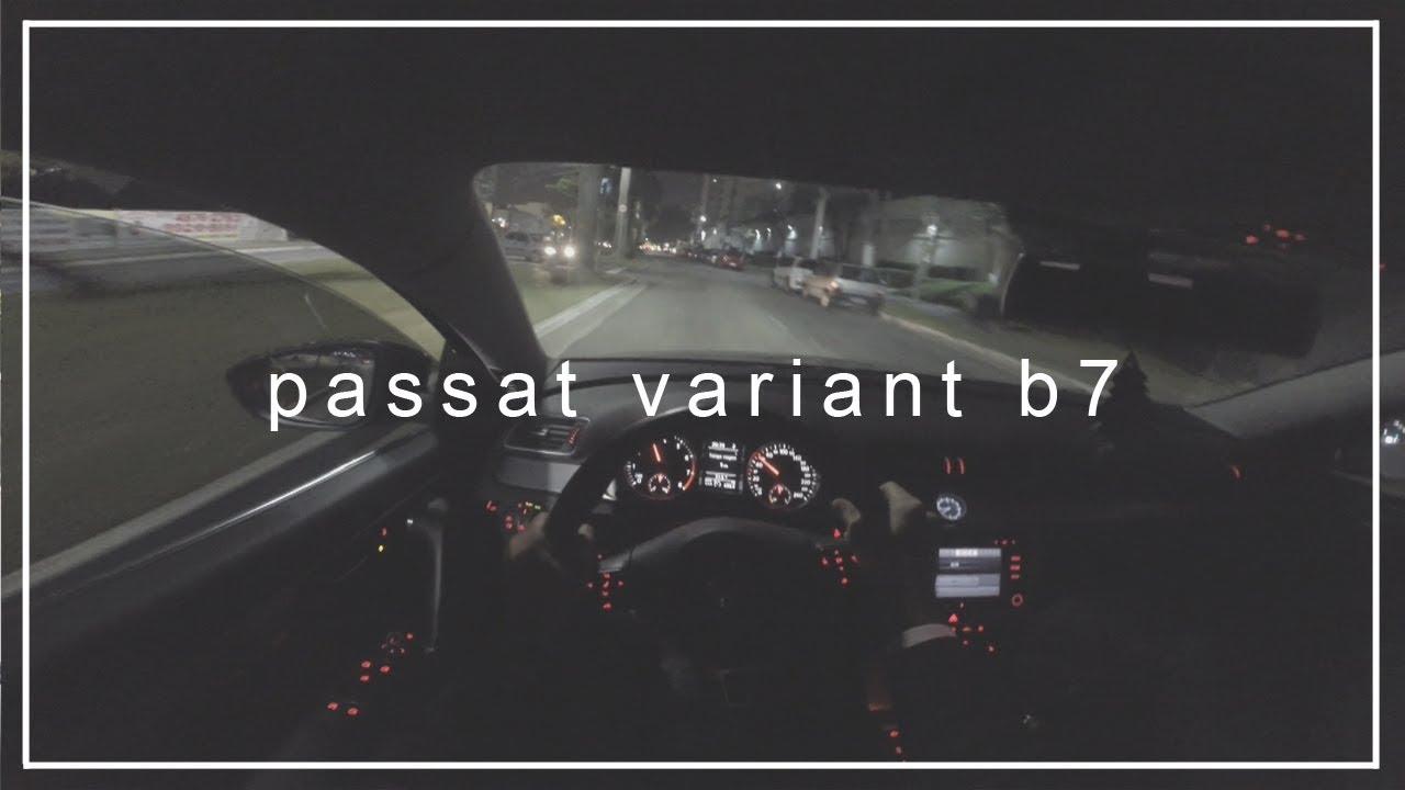 passat 2 0 tsi b7 variant sound exhaust pov
