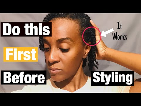 How I Prep My Hair for Protective Styles | Two Strand Twist