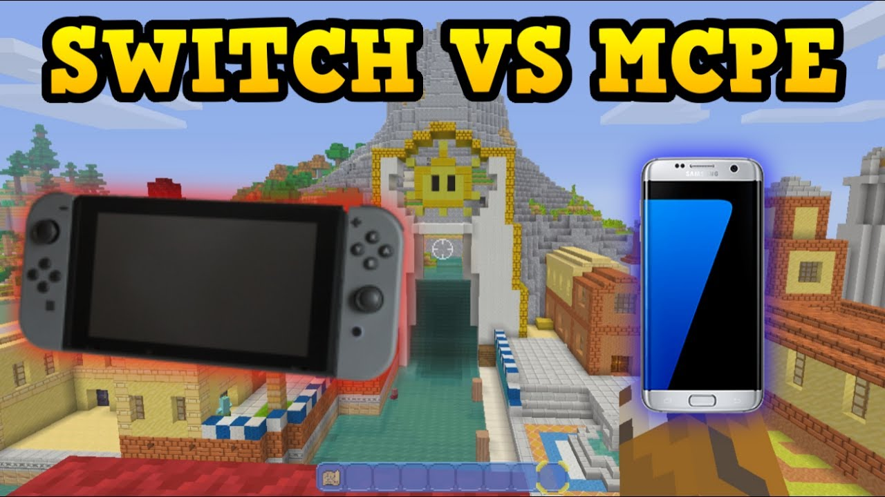 Minecraft Switch vs Minecraft PE COMPARISON