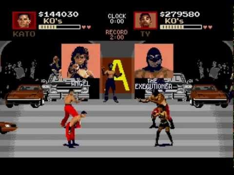 Repeat Pit-Fighter Sega Genesis 2 player level 8 difficulty by