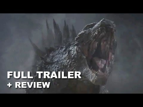 Godzilla 2014 Official Trailer + Trailer Review - COURAGE : HD PLUS
