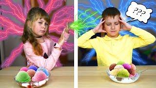 Я Читаю Твои Мысли Телепатия Челлендж Мороженое Twin Telepathy Ice Cream Challenge