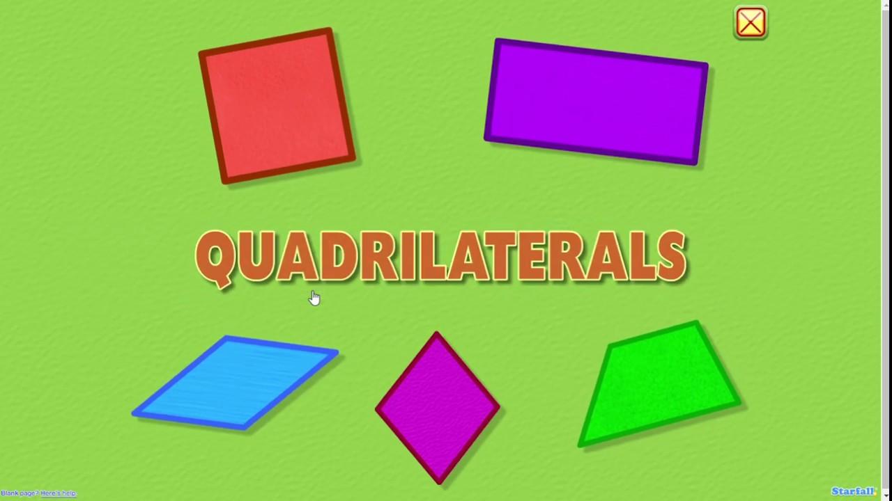 Quadrilaterals Geometry & Measurement