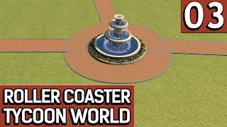 Roller Coaster Tycoon World BETA 1 #3 Szenario Items unter der Lupe deutsch german HD