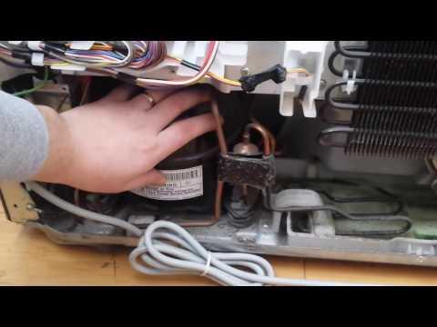 Нет Запуска Инверторного Мотора в Холодильнике ТОШИБА (TOSHIBA)