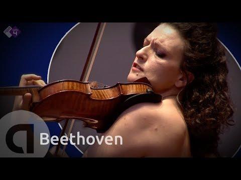 Beethoven: Violin Concerto, Op. 61 - Liza Ferschtman - Live concert HD