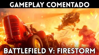 GAMEPLAY EXCLUSIVO BATTLEFIELD 5: FIRESTORM (PC, PS4, Xbox One) El BATTLE ROYALE más ESPECTACULAR