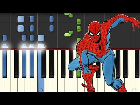 Spiderman Theme / Piano Tutorial / Notas Musicales