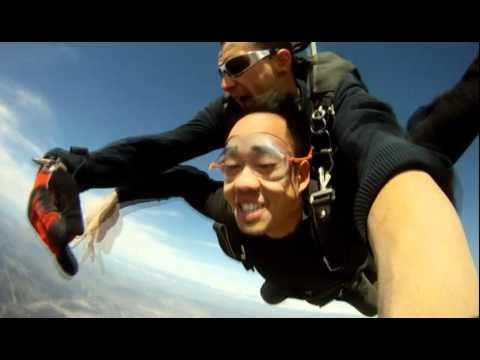 First time Sky Diving @ Skydive Santa Barbara