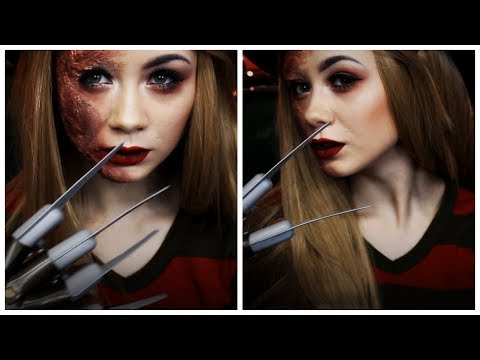 Miss FREDDY KRUEGER || HALLOWEEN MAKE-UP