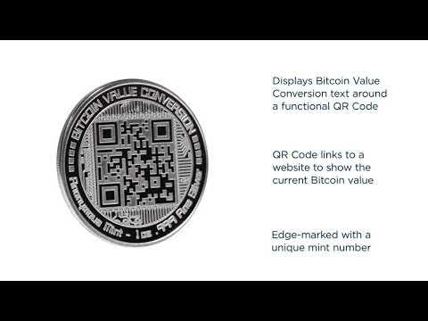 1 Oz Silver Colorized Proof Round Bitcoin Value Conversion