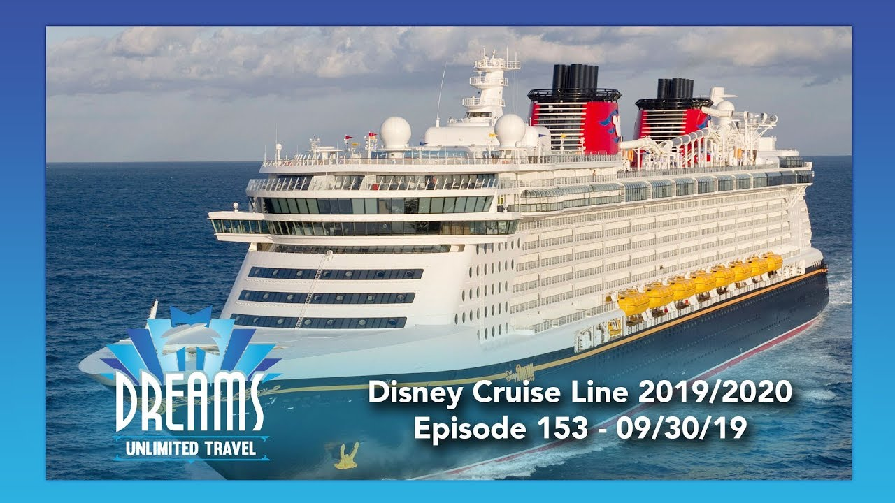 Disney Cruise 2020.Disney Cruise Line 2019 2020 Update 09 30 19