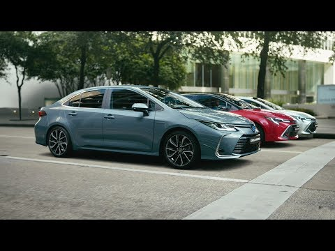 The all-new Toyota Corolla. Choose  Hybrid.