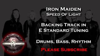 Iron Maiden - Speed Of Light - Backing Track + Rhythm Guitar