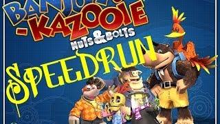 Banjo Kazooie Nuts & Bolts Speedrun (3:52:52 / IGT 3:27:32)