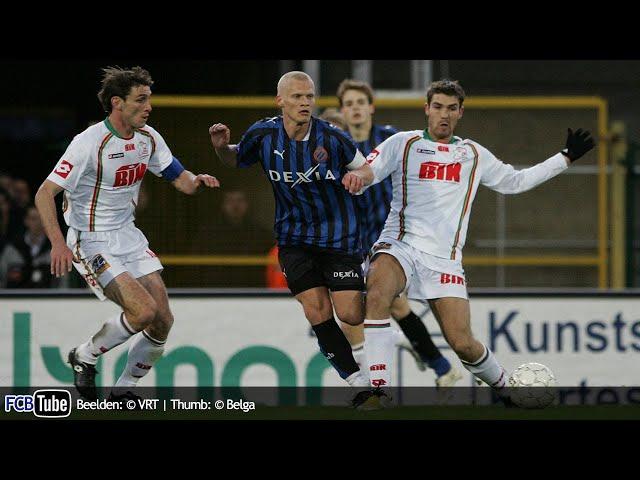2007-2008 - Jupiler Pro League - 29. Zulte Waregem - Club Brugge 2-3