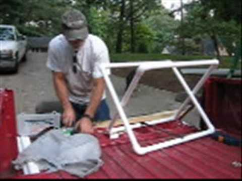 Building Flatwater Kayak Boat Holders With My Dad - YouTube