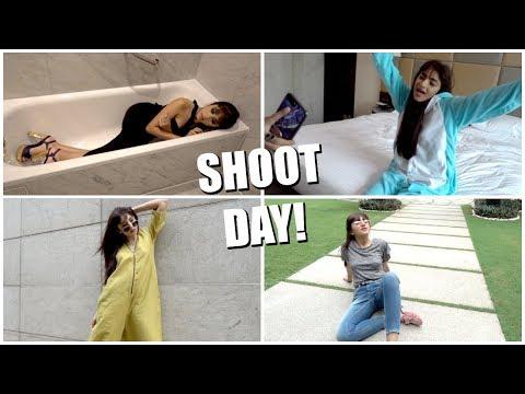 What we get upto on shoot days! | Aashna Shroff