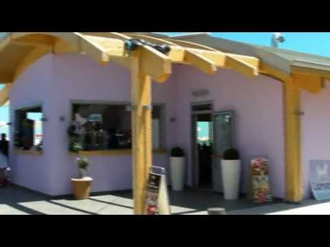 GIAMIRMA BEACH and RESTAURANT- PORTO POTENZA PICENA - YouTube