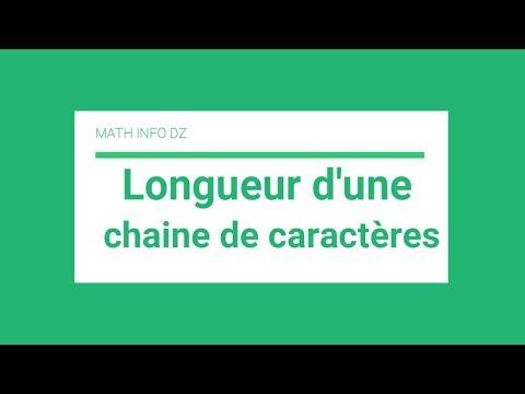 Langage C : Chaine De Caractère - Calcul De La Longueur Avec Strlen (darija)