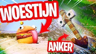 BURGER FOUND IN THE DESERT!! VIKING ANCHOR IN THE MAP SPOTTED! + LEAKED BUNKER ITEMS in FORTNITE