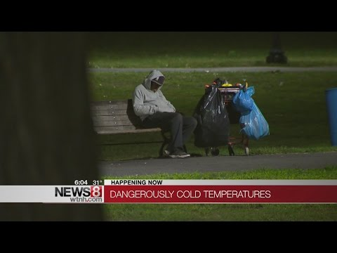 Emergency Shelters Across Connecticut Opening For Arctic Blast Cold