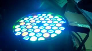 СВЕТОМУЗЫКА LED PAR 54 RGBW, светодиодный пар(, 2017-01-11T21:40:55.000Z)