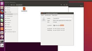 Как создать скрипт файл на Ubuntu (исполняемый sh файл).